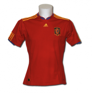 camiseta de la seleccin espaola